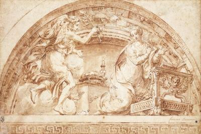 The Annunciation: a Design for a Lunette