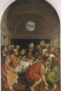 The Last Supper by Girolamo Romanino