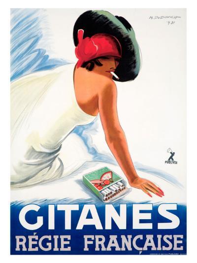 Gitanes--Giclee Print