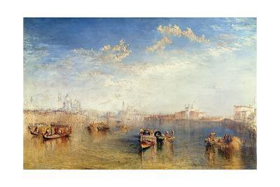 Giudecca La Donna Della Salute and San Giorgio, Venice-J^ M^ W^ Turner-Giclee Print