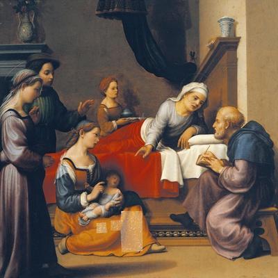 The Birth of St John the Baptist, 1515-1520
