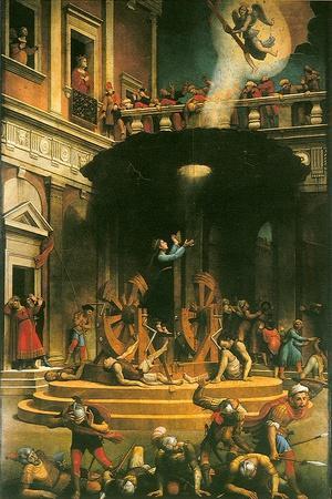 The Martyrdom of Saint Catherine of Alexandria, 1530-1540