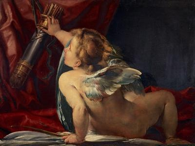 Cupid (Cut from a Larger Picture)