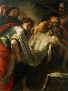 The Entombment of Christ, 1620S by Giulio Cesare Procaccini