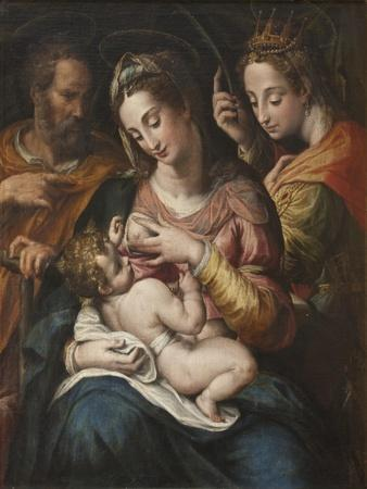The Holy Family with St Catherine, c.1600
