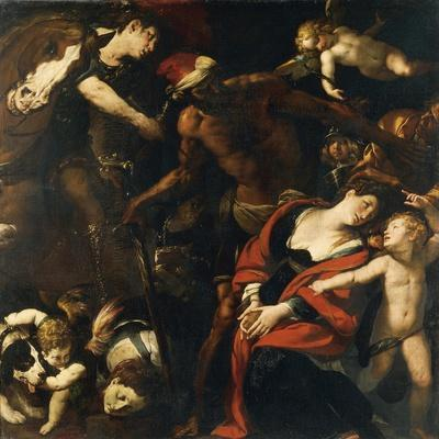 The Martyrdom of St Rufina and St Secunda or the Painting by Three Hands