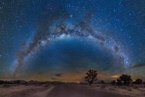 Milky Way Reflected over the Atacama Desert by Giulio Ercolani