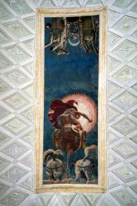 Apollo Driving the Chariot of the Sun, Ceiling Decoration in the Camera Del Sole, 1527 by Giulio Romano