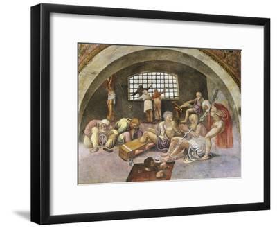 Chained Prisoners, Fresco