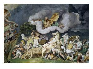 Diomede Uccide Tideo by Giulio Romano