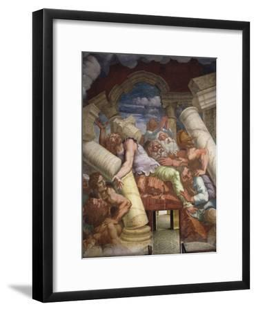 Frescoes in Chamber of Giants