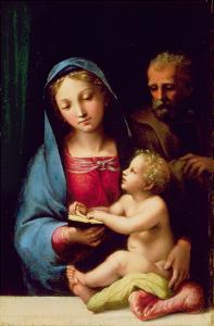 Holy Family by Giulio Romano