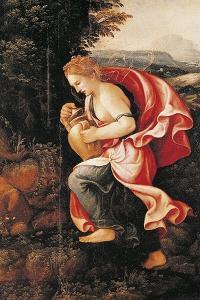 Pandora, 16th Century by Giulio Romano