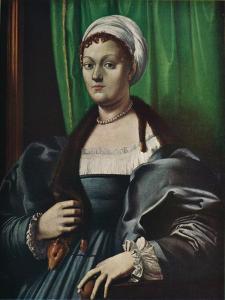 'Portrait of a lady', 16th century by Giulio Romano