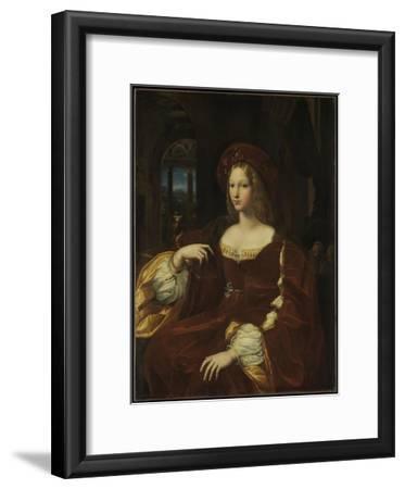 Portrait of Doña Isabel de Requesens y Enríquez de Cardona-Anglesola, c.1518
