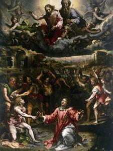 St Stephen's Martyrdom by Giulio Romano