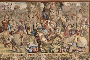 The Battle of Zama by Giulio Romano