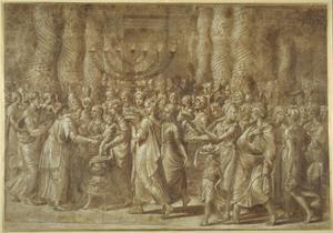 The Circumcision by Giulio Romano