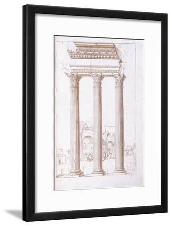 The Columns of the Temple of Castor and Pollux
