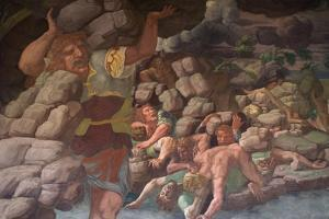 The Fall of the Giants (Sala Dei Gigant) by Giulio Romano