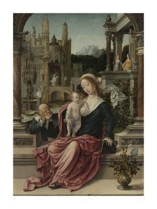 The Holy Family by Giulio Romano