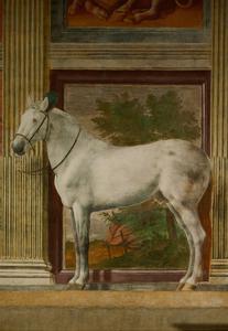 The Horses Hall, 1525-1535. by Giulio Romano