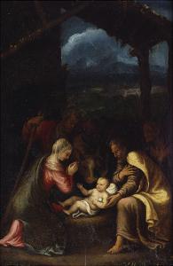 The Nativity by Giulio Romano