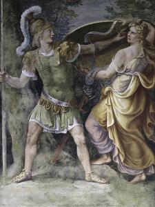 Thetis Arming Achilles by Giulio Romano