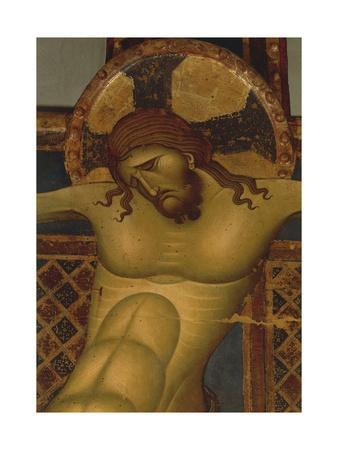 Head of Christ, Detail of 13th Century Crucifix
