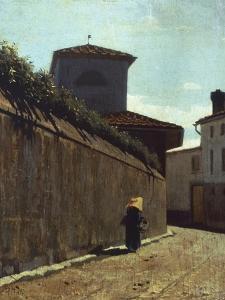 Street in the Sun, 1863-1864 by Giuseppe Abbati