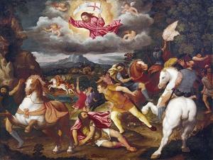 The Conversion of Saul, Circa1527-1593 by Giuseppe Abbati