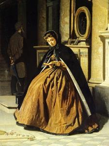 The Prayer, Ca 1865 by Giuseppe Abbati