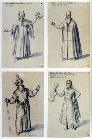 Costume Design for Classical Figures, 16th Century