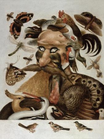 An Allegory of Air by Giuseppe Arcimboldo