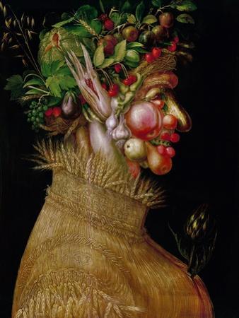 Arcimboldo: Summer, 1563 by Giuseppe Arcimboldo