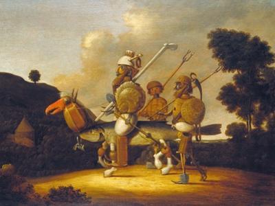 Don Quixotte by Giuseppe Arcimboldo