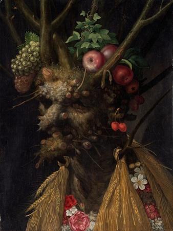 Four Season In One Head by Giuseppe Arcimboldo