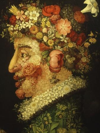 La Primavera (Spring), 1573 (Detail) by Giuseppe Arcimboldo