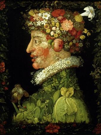 La Primavera (The Spring), 1573 by Giuseppe Arcimboldo