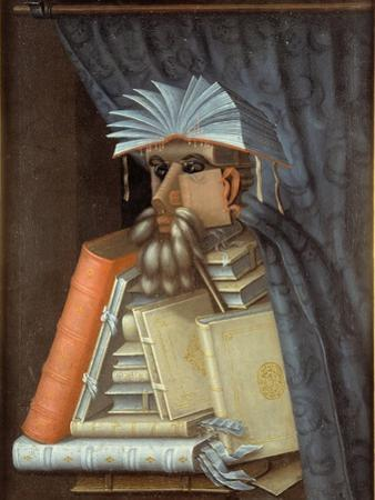 Portrait of a Librarian, c.1566 by Giuseppe Arcimboldo