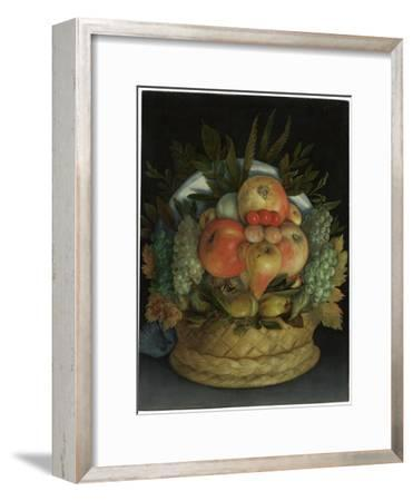Reversible Anthropomorphic Portrait of a Man Composed of Fruit