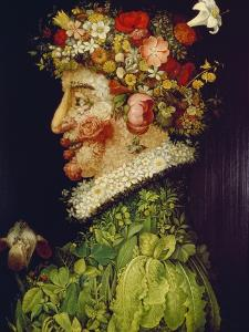 Spring, 1563 by Giuseppe Arcimboldo