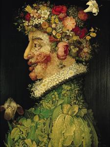 Spring, 1573 by Giuseppe Arcimboldo