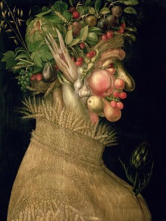 Summer, 1563 by Giuseppe Arcimboldo