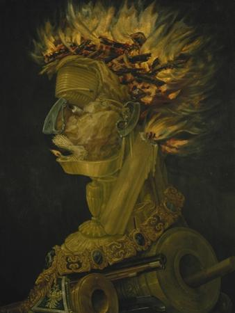 The Fire, 1566 by Giuseppe Arcimboldo