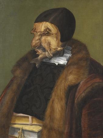 The Lawyer, 1566 by Giuseppe Arcimboldo