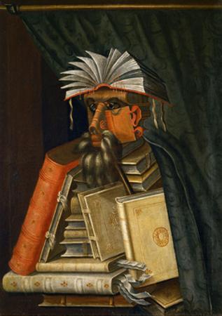 The Librarian, 1566 by Giuseppe Arcimboldo