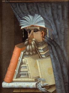 The Librarian by Giuseppe Arcimboldo