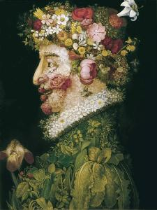 The Spring by Giuseppe Arcimboldo
