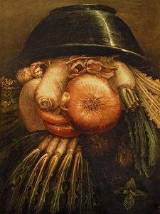 The Vegetable Gardener, circa 1590 by Giuseppe Arcimboldo